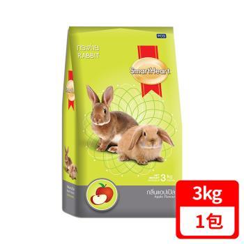 SmartHeart 慧心寶貝兔子飼料 - 蘋果口味 3kg