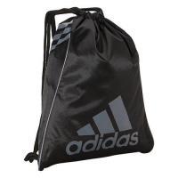 Adidas 2018時尚Burst黑色前後雙用抽繩後背包