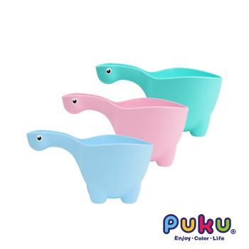 PUKU藍色企鵝 恐龍水瓢_水色、粉色、綠色