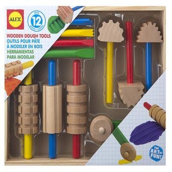 【美國ALEX】木質黏土工具組