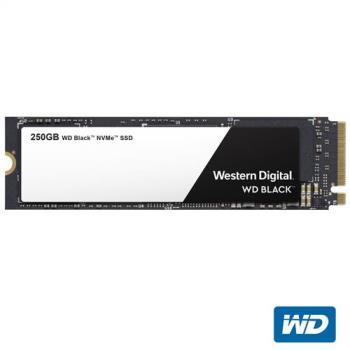 WD SSD 250GB NVMe PCIe Gen3 固態硬碟(黑標)