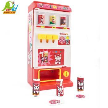 【Playful Toys 頑玩具】自動販賣機 801C 飲料販賣機 投幣飲料機 販賣機 飲料販賣機 玩具飲料機 家家酒 自動販賣機