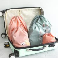旅行防水束口袋 一套三個