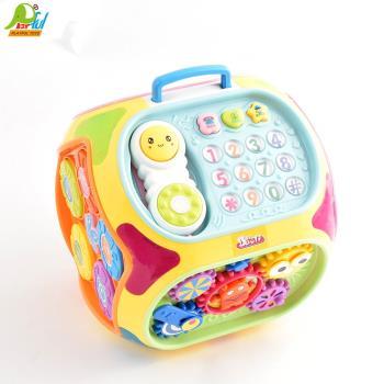 【Playful Toys 頑玩具】益智學習屋 1406 益智學習屋 音樂學習屋 益智玩具 兒童教具 兒童玩具 多功能智慧屋 學習玩具