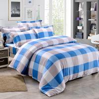 Betrise 藍線  雙人-植萃系列100%奧地利天絲三件式枕套床包組