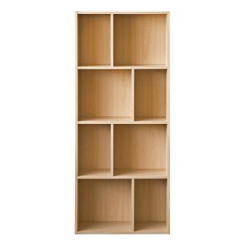 尼克斯-升級款四層八格櫃-木紋色