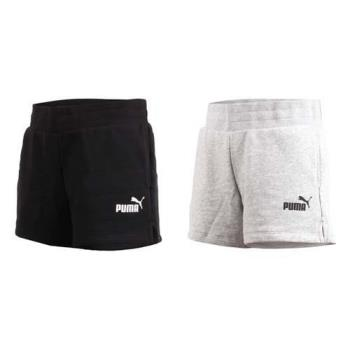 PUMA 女基本系列素色短褲-慢跑 路跑