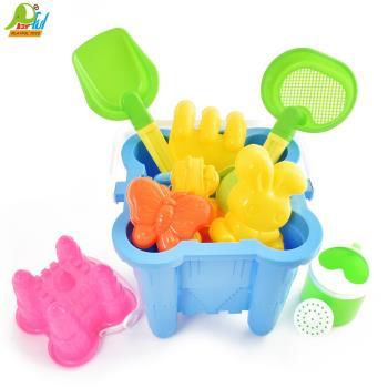 【Playful Toys 頑玩具】城堡沙灘組 GU-4002 沙灘玩具 3D空間概念 玩沙 夏日玩具 海灘 兒童玩具
