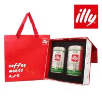 illy意利 尊爵咖啡禮盒低咖啡因咖啡豆(2入)