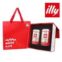 illy意利 尊榮咖啡禮盒中焙咖啡粉(2入)