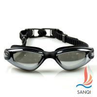 SANQI三奇 夏日必備抗UV防霧休閒泳鏡(共四色F) SN9018