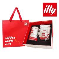 illy意利 典藏咖啡禮盒(中焙咖啡粉+中焙掛耳)