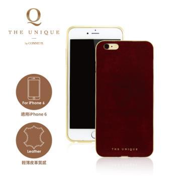【CONNETE】iPhone 6 + /6 S+專用鋁合金皮革背蓋保護套/三色