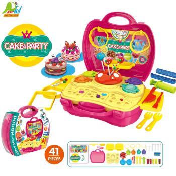 【Playful Toys 頑玩具】手提糖果黏土盒8729 玩具手提箱 手提玩具盒 手提玩具箱 兒童玩具 家家酒