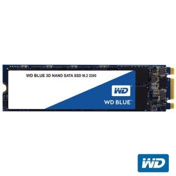WD SSD 500GB M.2 SATA 3D NAND固態硬碟(藍標)