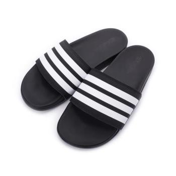 ADIDAS ADILETTE COMFORT 套式拖鞋 黑白 AP9966 男鞋 鞋全家福