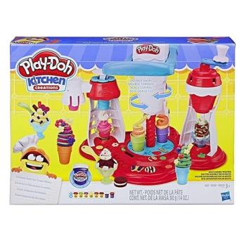 Play-Doh培樂多黏土 - 終極蛋捲冰淇淋遊戲組