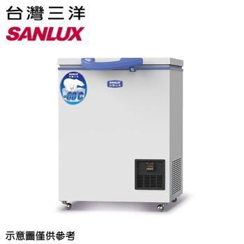 SANLUX三洋100公升超低溫-60°C冷凍櫃TFS-100G