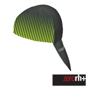 ZeroRH+ 義大利 Matrix 專業運動導汗頭巾(螢光黃) ECX9116_917