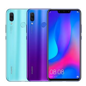 Huawei nova 3 (6G/128G) 3D雙曲面玻璃6.3吋美拍機