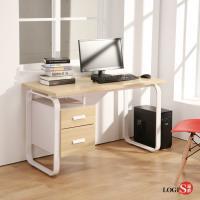LOGIS邏爵 時尚HOME LIFE 120*60CM工作桌 書桌 電腦桌 多用途 木紋桌 LS-0012