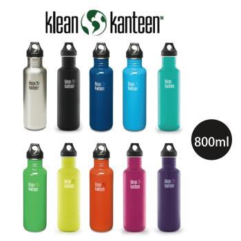 [ 美國Klean Kanteen ] 窄口不鏽鋼水瓶800ml