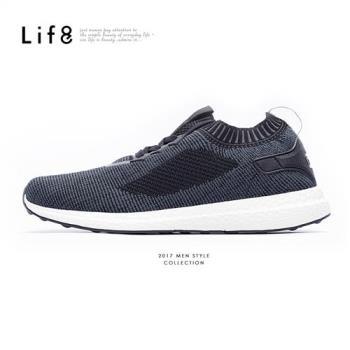 Life8-Sport 超輕量 飛織布 彈力運動鞋-女-獨