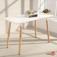 LOGIS邏爵 自然簡約北歐寬60cm餐桌 長桌 工作桌 書桌 休閒桌 T12060W