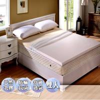 KOTAS 天然乳膠防蹣透氣床墊MIT雙人白