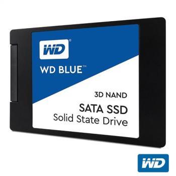 WD SSD 250GB 2.5吋 3D NAND固態硬碟(藍標)