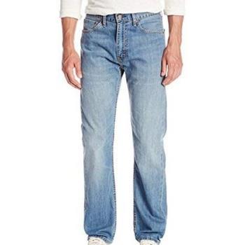 Levis 2018男時尚505經典中腰直筒Cabana牛仔褲
