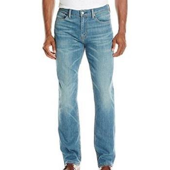 Levis 2018男時尚514Verit淺藍色直筒彈力牛仔褲