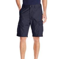 Levis 2018男時尚Carrier多口袋深寶藍色貨物休閒短褲
