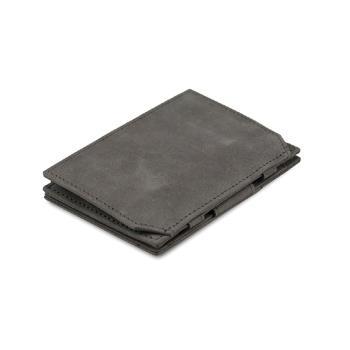 比利時 GARZINI 翻轉皮夾 - 零錢袋款 - 淺灰色