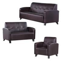 Bernice 萊斯爾皮沙發椅組合 1+2+3人座