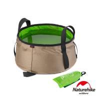 Naturehike 輕量耐磨折疊洗臉盆 儲水盆 水桶 10L 附收納袋 綠色