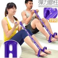 頂級TPR腳踏拉繩拉力器