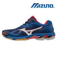 【MIZUNO 美津濃】WAVE BOLT 7 男 排球鞋 藍 V1GA186027
