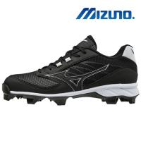 【MIZUNO 美津濃】9-SPIKE ADV.DOMINANT IC TPU 男 棒壘球鞋 黑 11GP185209