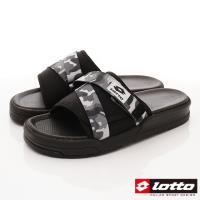 Lotto樂得-潮流運動拖鞋-MS6778迷彩灰(男段)
