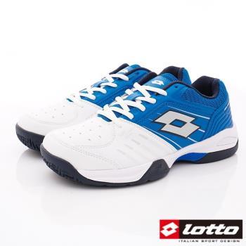 LOTTO樂得-全地形衝刺網球鞋-MT6806白藍(男段)