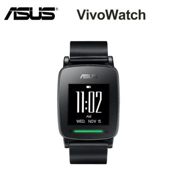 ASUS華碩 VivoWatch 黑框版 (無悠遊卡錶帶) 智慧型手錶