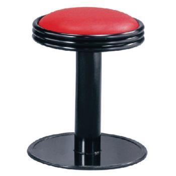 傢俱屋 巴爾低吧台椅 紅 固定