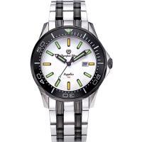 Olympia Star 奧林比亞之星-神盾系列極限氚氣石英腕錶-白 98024TGSB