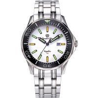 Olympia Star 奧林比亞之星-神盾系列極限氚氣石英腕錶-白 98024TGS
