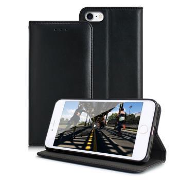 Xmart For iPhone 8/ iPhone 7 (4.7吋) 精美好手感小羊皮紋隱扣皮套