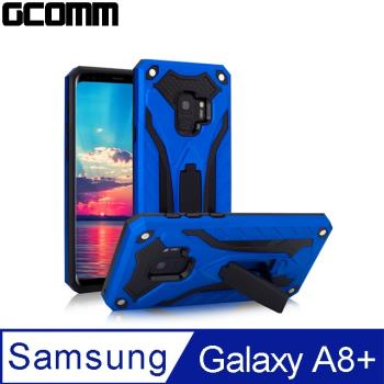 GCOMM Solid Armour 防摔盔甲保護殼 Galaxy A8+ 藍盔甲