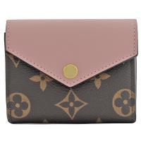 Louis Vuitton LV M62933 Zoé 經典花紋三折短夾.芭蕾粉 現貨