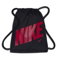 Nike 2018學童時尚大Logo桃紅黑色束口後背包
