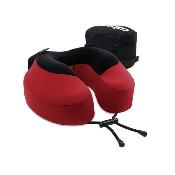 CABEAU旅行用記憶頸枕S3-魔力紅
